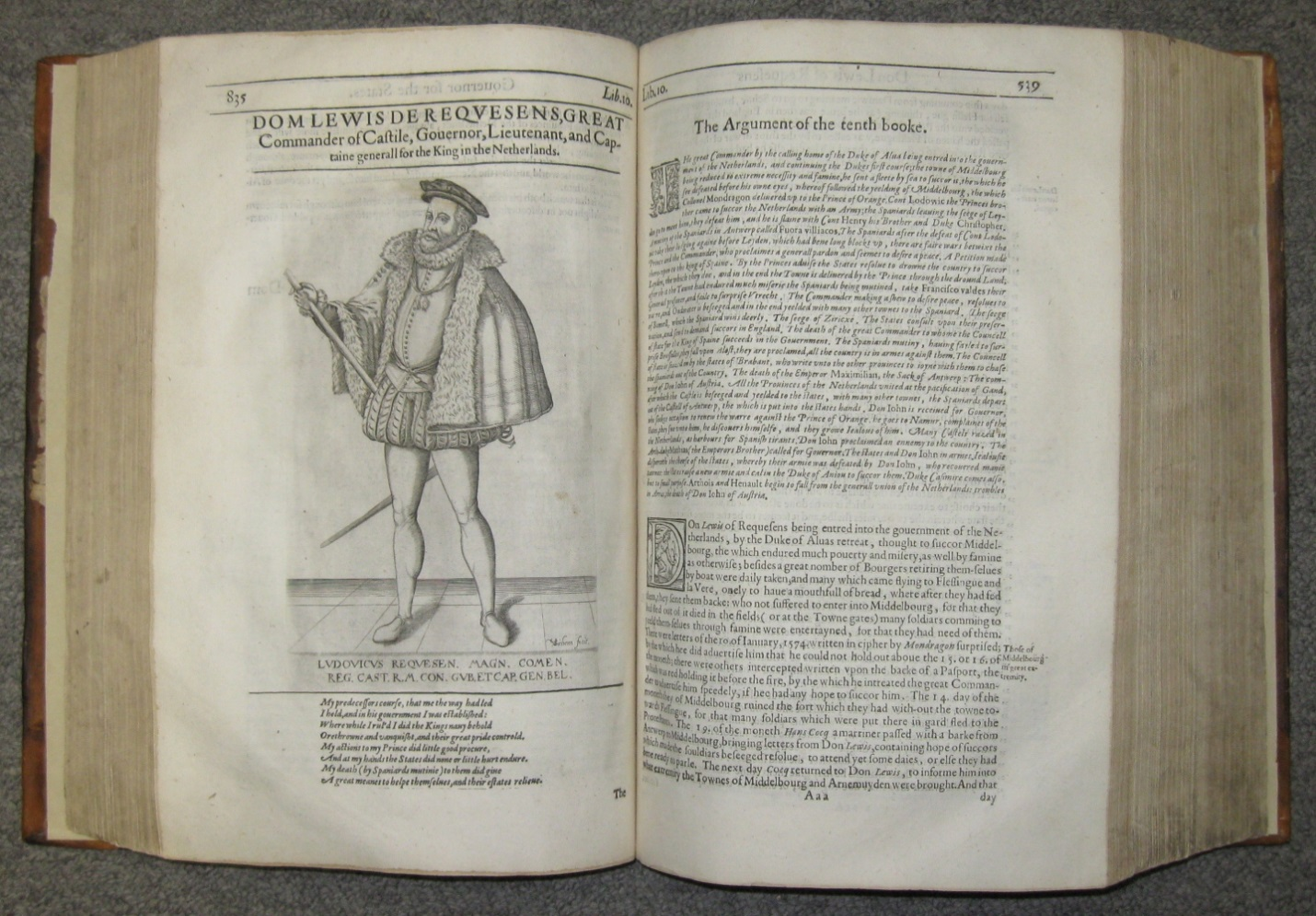GRIMESTON Edward D 1640 A General Historie Of The Netherlands Wih Genealogie And Memorable Acts Earls Holland Zeeland